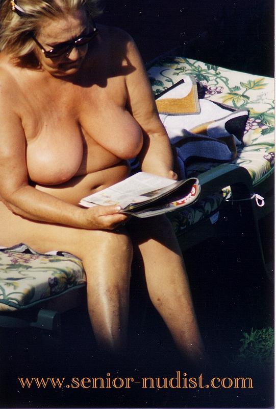 Nude senior nudists